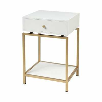 Birdwell 4 Leg End Table with Storage - Wayfair