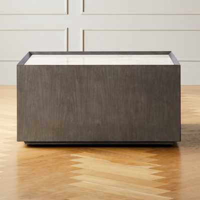 Hideaway Coffee Table with Storage - CB2