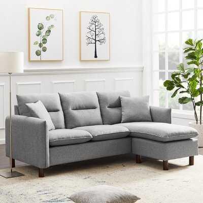 Caziah 79.52'' Reversible Sofa & Chaise - Wayfair