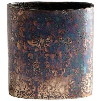 Small Inscribed Vase - Onyx Rowe