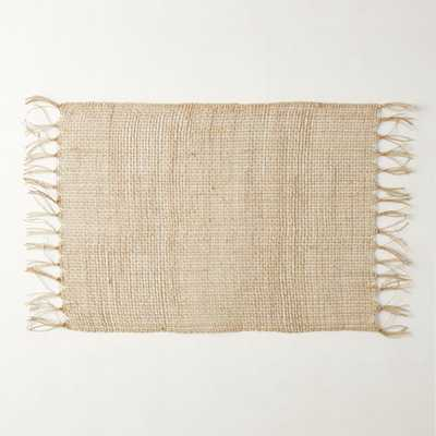 Open Weave Placemat Natural - CB2