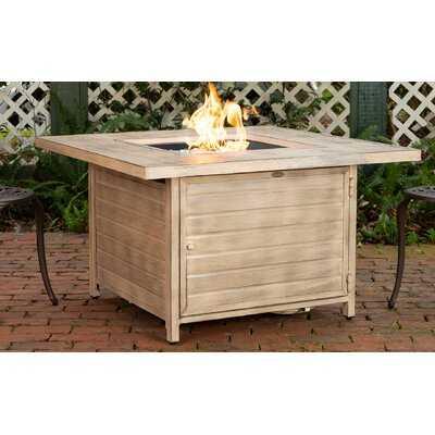 Everly Aluminum Propane Fire Pit Table - Birch Lane