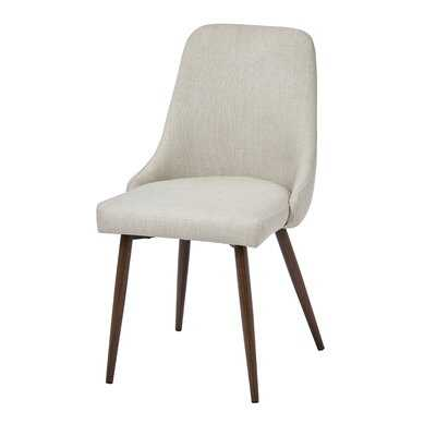 Continuum Upholstered Dining Chair - Set of 2 (beige) - Wayfair