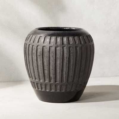 Ameer Black Planter Small - CB2
