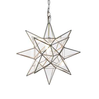 "Worlds Away 1-Light Single Star Pendant Size: 20"" H x 20"" W x 20"" D - Perigold"