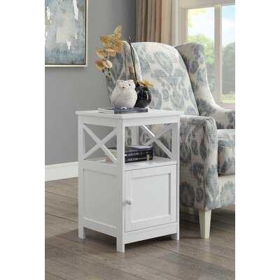 Wrenshall 4 Legs End Table with Storage - Wayfair