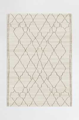 Washable Rug Cover & Pad | Marrakesh Beige Ivory Rug | Stain-Resistant | Ruggable | 5'x7' - Ruggable