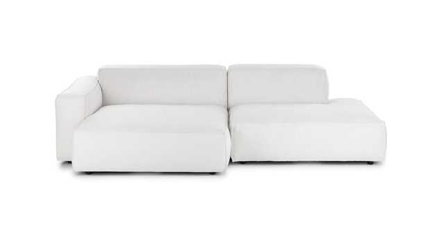 Solae Chill White Left Sectional - Article