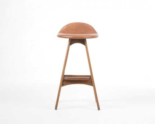 Buch Counter Stool - Modena Camel Fruitwood - Rove Concepts