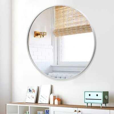Rania Modern and Contemporary Beveled Venetian Accent Mirror - Wayfair