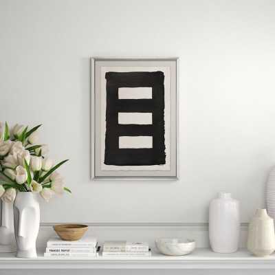 Soicher Marin 'Black Wash' Print - Perigold