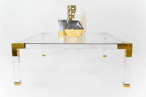 Lucite Coffee Table - Perigold