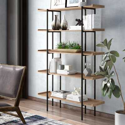 Blonde Etagere Bookcase - Wayfair