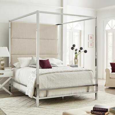 Moyers UpholsteredCanopy Bed - Wayfair