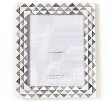 "Kajri Bone Picture Frame, Gray, 8"" x 10"" - Pottery Barn"
