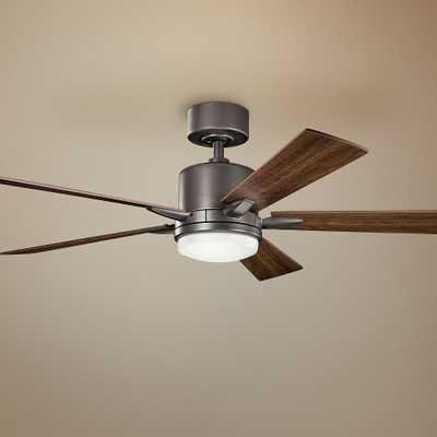 """52"""" Kichler Lucian Olde Bronze LED Ceiling Fan - Style # 36K88 - Lamps Plus"""