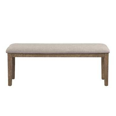 Maximilien Upholstered Bench - Wayfair