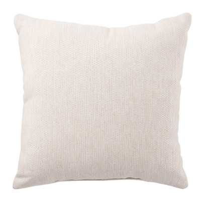 "Design (US) Cream 26""X26"" Pillow - Collective Weavers"