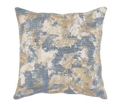"Blaise Pillow Cover, 22"" x 22"", Blue Multi - Pottery Barn"