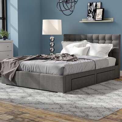 Myrrine Upholstered Storage Platform Bed - Wayfair