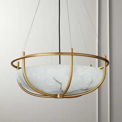 Parachute Glass Dome Chandelier - CB2