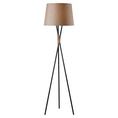 "Clavene 59"" Tripod Floor Lamp - Birch Lane"