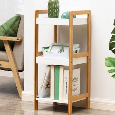 Tindal Solid Wood Etagere Bookcase - Wayfair