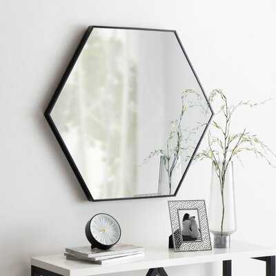 Bothell 6-Sided Hexagon Modern Beveled Accent Mirror - AllModern