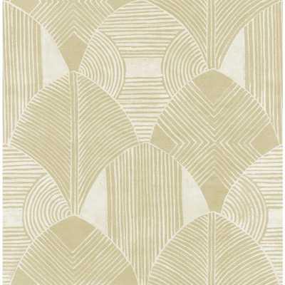 Scott Living Westport Coffee Geometric Strippable Wallpaper Covers 56.4 sq. ft., Brown - Home Depot