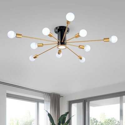 Armstead 10-Light Directional & Spotlight - Wayfair