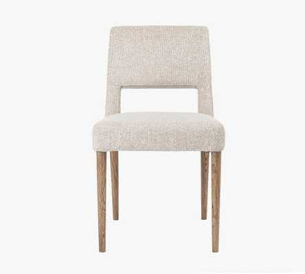 Keva Upholstered Dining Chair, Light Camel - Pottery Barn