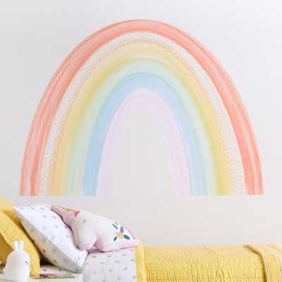 Rainbow Wall Decal - Crate and Barrel
