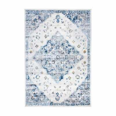 Josephina Power Loom Blue Rug - Wayfair