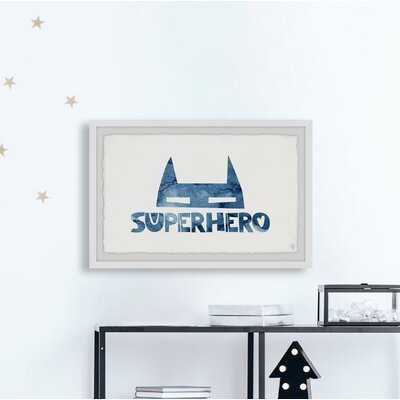 Czarnecki 'Superhero Mask' Framed Art - Wayfair