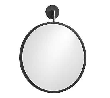 "Eastwood Round Mirror, Bronze, 30"" - Pottery Barn"