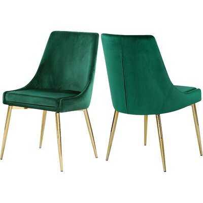 Karina Upholstered Dining Chair (set of 2) - Wayfair