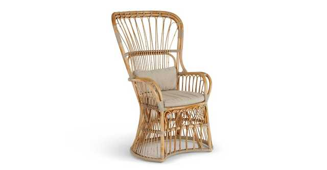Pavon Natural Lounge Chair - Article