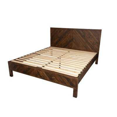Elzada Reclaimed King Platform Bed - Wayfair