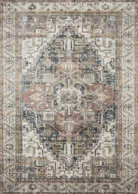 "Anastasia Ivory / Multi 7'-10"" x 10'-10"" - Loma Threads"