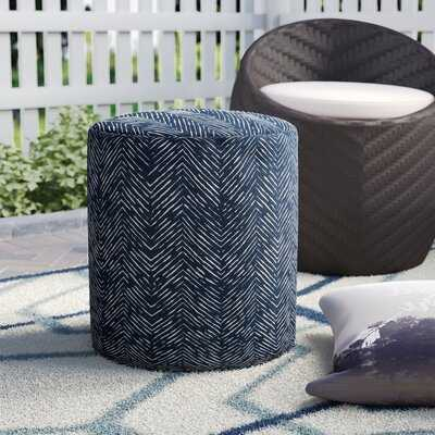 Glassell Small Outdoor Ottoman with Cushion - Wayfair