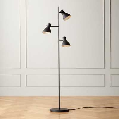 Belini Black Floor Lamp - CB2