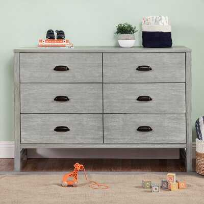 Fairway 6 Drawer Double Dresser - Birch Lane