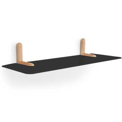 Tronk Design Gallagher Floating Shelf Finish: Black - Perigold