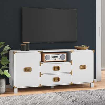 """Kelly TV Stand for TVs up to 58"""" - AllModern"""