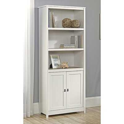 "Denario 71.5"" H x 29.25"" W Standard Bookcase - Wayfair"