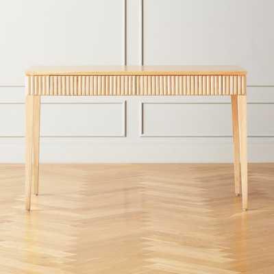 Cape Wood Desk - CB2
