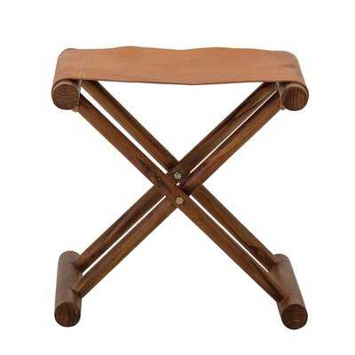 Sharo Solid Wood Folding Accent Stool - AllModern