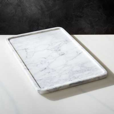 Marble Serving Tray - CB2