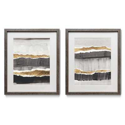 Greystone I - 2 Piece Picture Frame Painting Print Set on Paper - Wayfair
