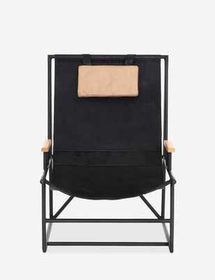 Cassie Sling Chair, Ebony Natural - Lulu and Georgia